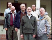 Randy Hoover, John Bolduc, René Iturbe, Joe Hindelang, Leon Olszamowski Vicar, and Ted Keating (Provincial).