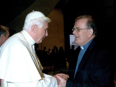 John Hannan and Pope Benedict