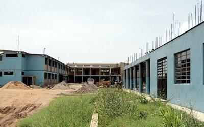 Juan Claude College 2nd floor construction
