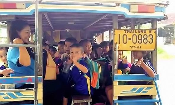 Marist ranong school bus