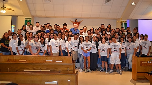 Brownsville parish welcomes migrant youth